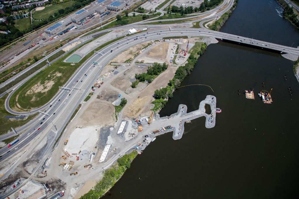 Pont de L'Île-des-Soeurs – Printemps 2016