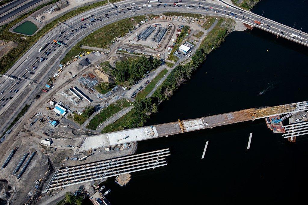 Pont de L'Île-des-Soeurs – Été 2017