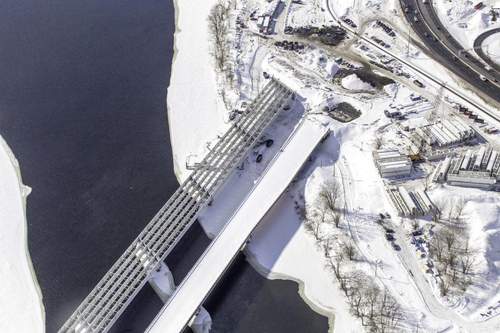 Pont de L'Île-des-Soeurs – Hiver 2017/2018