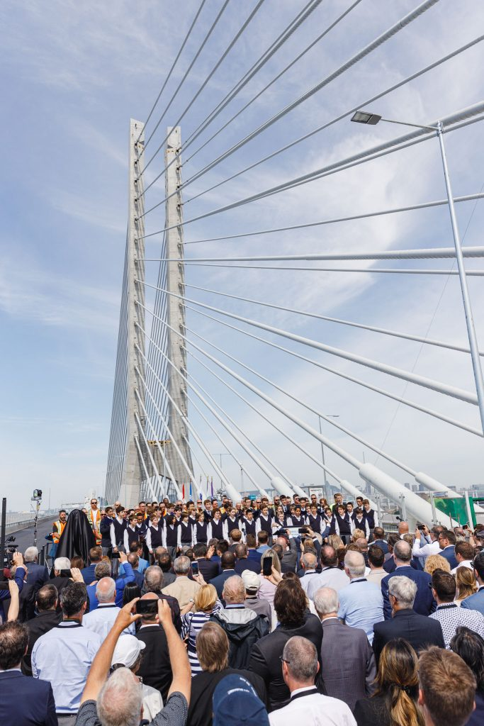 Ouverture du pont Samuel-De Champlain (Direction Nord et Sud) et cérémonie d'inauguration