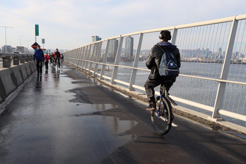 Ouverture de la piste multifonctionnelle du pont Samuel-De Champlain – 23 décembre 2019